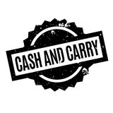 Cash And Carry rubber stamp Royalty Free Stock Photo