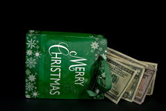 Cash For Christmas Stock Images
