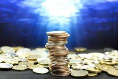 Cash coins. Money coins. cash coins. s Royalty Free Stock Photos