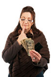 Cash or Credit Stock Photography
