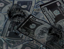 Cash Crime Royalty Free Stock Photography