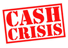 CASH CRISIS Royalty Free Stock Photos