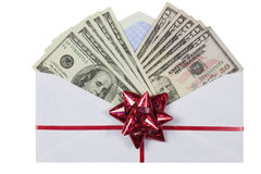 Cash Delivery Stock Photography