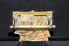 Cash on delivery Stock Images
