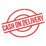 Cash On Delivery rubber stamp Stock Photo
