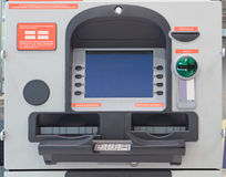 Cash dispense Stock Photo