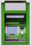 The cash dispense. The isolated face-to-face photo of a cash dispense Royalty Free Stock Images