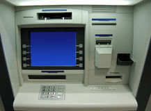 Cash dispenser. Automated teller machine Stock Photo