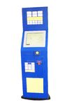 Cash dispenser. The image of cash dispenser Royalty Free Stock Images