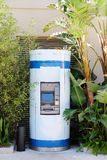 Cash dispenser. The image of street  cash dispenser Royalty Free Stock Image