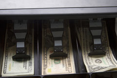 Cash In Drawer Stock Photo
