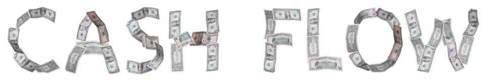 Cash flow royalty-vrije illustratie