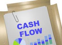 Cash flow - bedrijfsconcept Vector Illustratie
