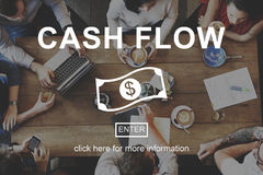 Cash Flow Business Money Financial Concept Royalty Free Stock Photo