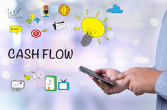 CASH FLOW CONCEPT Royalty Free Stock Photography