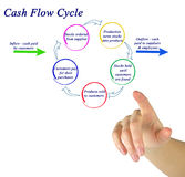 Cash Flow Cycle Royalty Free Stock Photo