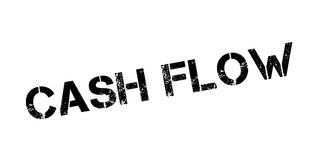 Cash Flow rubber stamp Royalty Free Stock Photos