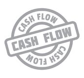 Cash Flow rubber stamp Royalty Free Stock Photo
