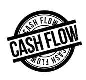 Cash Flow rubber stamp Stock Image