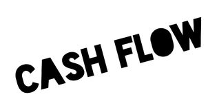 Cash Flow rubber stamp Stock Photo