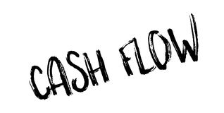 Cash Flow rubber stamp Royalty Free Stock Photography