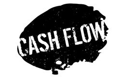 Cash Flow rubber stamp Stock Photography