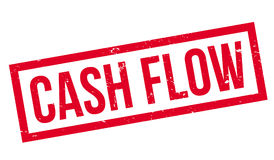 Cash Flow rubber stamp Stock Photos