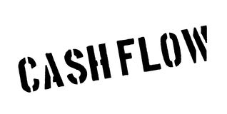 Cash Flow rubber stamp Royalty Free Stock Image