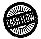Cash Flow rubber stamp Stock Images
