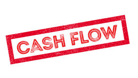 Cash Flow rubber stamp Stock Photos