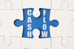 Cash flowoplossing stock foto's