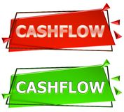 Cash flowteken Vector Illustratie