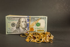 Cash for gold 001 Stock Photo