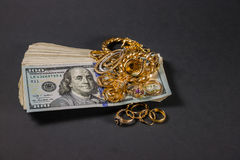 Cash for gold 006 Royalty Free Stock Photography
