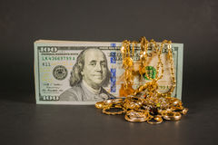 Cash for gold 004 Royalty Free Stock Images