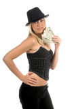 Cash In Hand Royalty Free Stock Photography