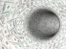 Cash hole Royalty Free Stock Photography