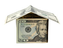 Cash house Stock Photography