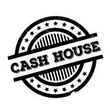 Cash House rubber stamp Stock Photography