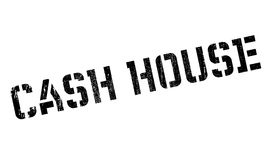 Cash House rubber stamp Royalty Free Stock Image