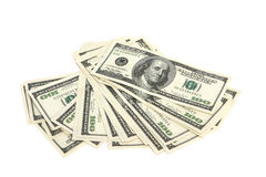Cash - hundred dollar bills stock photography