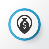 Cash Icon Symbol. Premium Quality Isolated Navigation Element In Trendy Style. Premium Quality Isolated Navigation Element In Trendy Style.  Cash Icon Symbol Royalty Free Stock Images