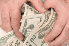 Free Cash In Hand Royalty Free Stock Photo - 396605