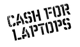 Cash For Laptops rubber stamp Royalty Free Stock Images