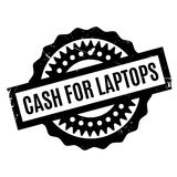 Cash For Laptops rubber stamp Stock Photography