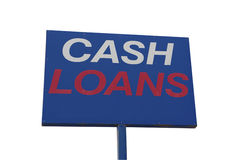 Cash Loans Royalty Free Stock Photos
