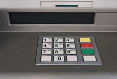 Cash machine Stock Images