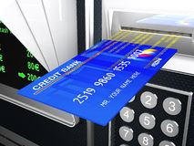 Cash machine 3d Stock Photo