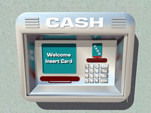 Cash machine Fotografia Stock