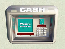Cash machine Immagini Stock